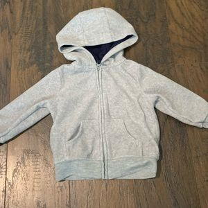 Boy zip up hoodie
